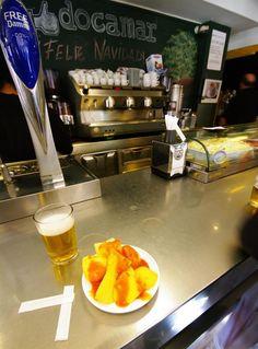 Docamar, bar à tapas, Madrid (Espagne)
