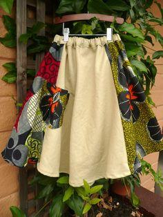 Girls Twirly Skirt in Hemp/Organic Cotton/AfricanPrint by IOGoods, $29.50  https://www.etsy.com/listing/105252172/girls-twirly-skirt-in-hemporganic