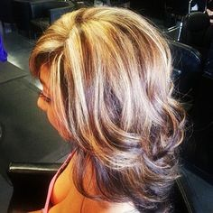 Think I could pull this off? Only dark on top, and blond underneath.
