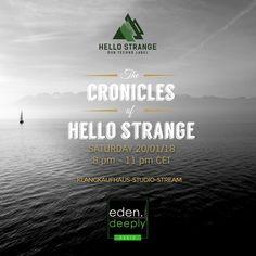 "exclusive ""hello strange"" Radioshow on eden. Techno, In This Moment, Movie Posters, Film Poster, Techno Music, Billboard, Film Posters"