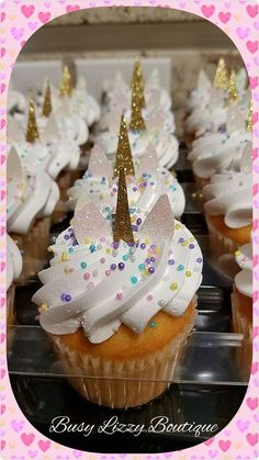 Best 10 Unicorn Cupcakes Order plain cupcakes at Sam's and cut out horn and ears and sprinkle with rainbow sprinkles If yove love rainbows & nature as much as we do, check out our canvas wrap & kids t-shirt range – click that link! Unicorn Themed Birthday Party, Unicorn Birthday Parties, Birthday Party Themes, 5th Birthday, Birthday Ideas, Birthday Cupcakes, Rainbow Birthday, Unicorn Themed Cake, Diy Unicorn Party