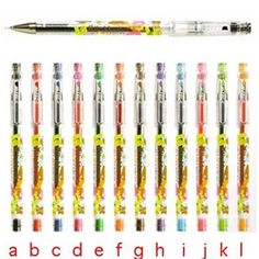 San-X Rilakkuma Hi-Tec-C 0.4-mm Gel Pens