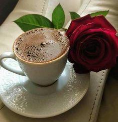 Good Morning Messages, Turkish Coffee, Coffee Love, Panna Cotta, Tea Cups, Tableware, Ethnic Recipes, Food, Addiction