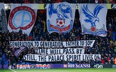 Crystal Palace Selhurst Park has become known as one of the most atmospheric grounds in the league. Crystal Palace Fc, Blue Army, Football, Club, Premier League, Eagles, Red And Blue, Passion, Seasons