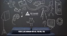 Chalkboard animation video design