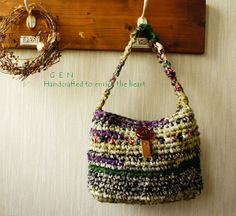 crochet purse-on the order of the one I just bought