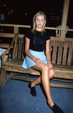 Cameron Diaz in the 90s