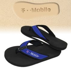 4637eb817 La Jolla Premium Flip Flop Sandals with cut-out imprint - leave your brand  everywhere you go!