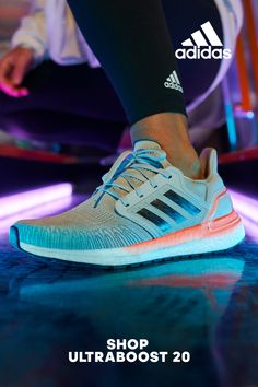 Feel the energy of Ultraboost Cool Adidas Shoes, Adidas Running Shoes, Crazy Shoes, Me Too Shoes, Tennis Shoes Outfit, Rare Sneakers, Sport Wear, Athletic Shoes, Fashion Shoes