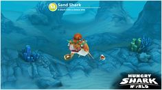 Check out my Sand Shark from Hungry Shark World!