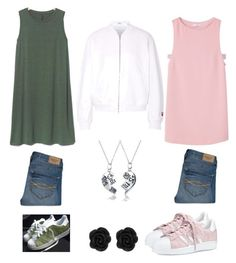 """""""Untitled #94"""" by subhanaenayat on Polyvore featuring Gap, MANGO, adidas, Abercrombie & Fitch, T By Alexander Wang and Bling Jewelry"""