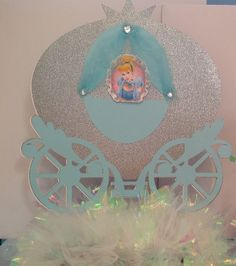 Cinderella Carriage Centerpiece or Birthday by Forgetmenotparty, $22.00