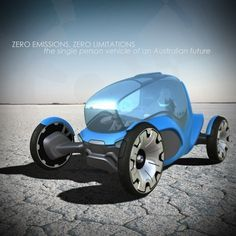 Future Transportation - Zero One Single Person Vehicle (video)