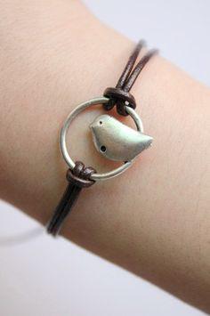 cute bird bracelet