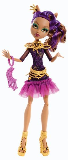 Clawdeen Frights Camera Action Doll