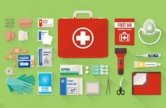 in an emergency situation you have to act quickly, so it is important to be familiar with your First Aid Kit and know what to use for different injuries.