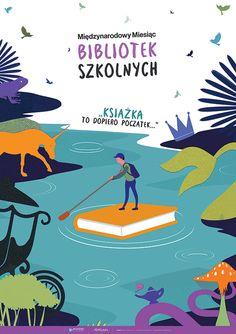 PAKIET: Biblioteka szkolna (24 plakaty) - PlanszeDydaktyczne.pl