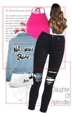 """""""Daughter of Aphrodite Elsa Peretti, Half Blood, Aphrodite, Everyday Outfits, Daughter, Skinny Jeans, Boohoo, Polyvore, Cabin"""
