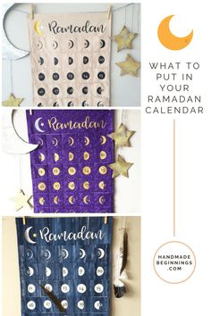 What to put in your Ramadan Calendar - handmade beginnings