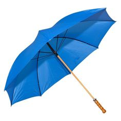 Elite Rain Umbrella Wooden Shaft Golf Umbrella - Royal Blue - 2988WS-BL