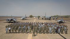 Personnel from the Republic of Singapore Air Force gather for a group photo at RAAF Base Darwin During Exercise Pitch Black 2016. Exercise Pitch Black 2016, the Royal Australian Air Force's largest training activity of the year, has drawn to a close with a ceremony at RAAF Base Darwin on August 19.  During the exercise, up to 80 aircraft were launched each wave to complete complex air and ground-based missions; in all, the exercise featured more than 2,800 personnel and 115 aircraft, with…