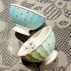 Flower and Spots Bowl- Miss Etoile