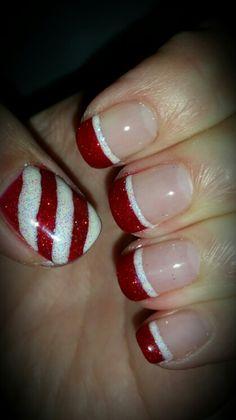 Nays Christmas nails