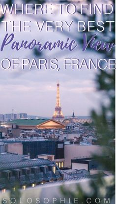 where to find the very best panoramic view of Paris, France: a look at Galeries Lafayette rooftop terrace!