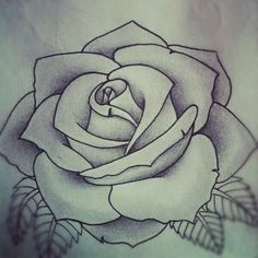 Perfect rose tattoo