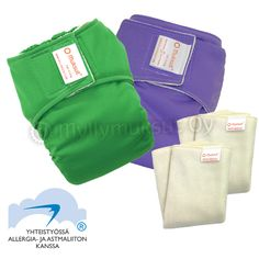 Pocket diaper + insert package S-M (54,20€)