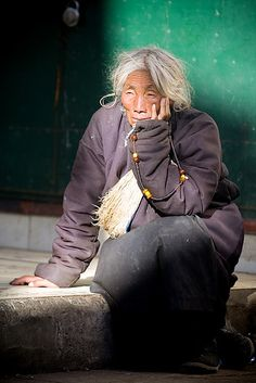Pilgrim in Lhasa. Tibet is a different nation of China. Tibet is not a part of China but a country. We Are The World, People Around The World, Steve Mccurry, Tibetan Buddhism, Lhasa, Portraits, Interesting Faces, World Cultures, Beautiful People