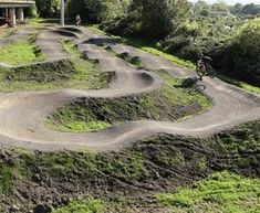 Love the design of this. Would dearly love to put some doubles in it too, but realise that that isn't in the spirit of a pump track.    Architrail - Mountain Bike Trail Services