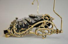 Steampunk keyboard.