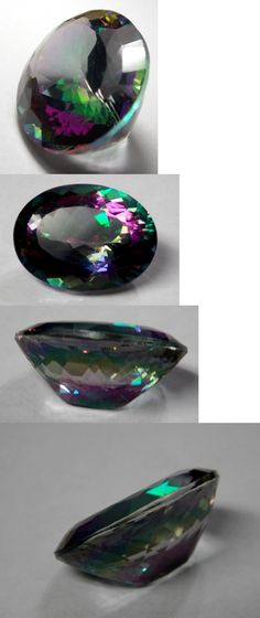 Topaz 10270: 66.02 Carats Natural Mystic Topaz Oval-Shaped Loose Gemstone 29X21x14stone Size -> BUY IT NOW ONLY: $219.99 on eBay!