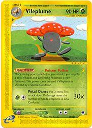 Pokemon Expedition Card 69 - Vileplume $7.49-$9.99