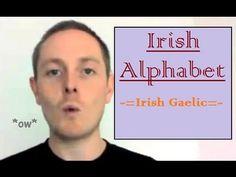 Ireland: Learn a little Irish - Irish Language Alphabet Another fun site… Irish Language, Irish Eyes Are Smiling, Irish Culture, Irish Pride, Irish Quotes, Irish Blessing, Irish Celtic, Luck Of The Irish, Globe Theatre