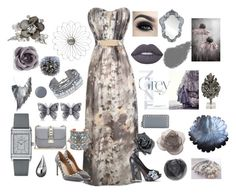 50 Shades of Grey by lena-kontos on Polyvore featuring Valentino, Metal Mulisha, Jaeger-LeCoultre, Chan Luu, Christian Dior, Allurez, Bijoux de Famille, Lydia Courteille, hook + Albert and Bobbi Brown Cosmetics
