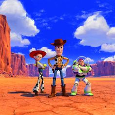 Who doesn't love Woody, Buzz and Jessie?