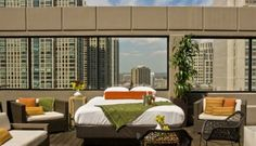 Posh Stargazing: Glamorous Outdoor Beds | Apartment Therapy