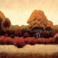 Autumn Forest I  Fine Art Print