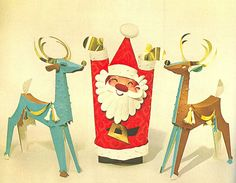 Sixties Christmas crafts