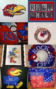 Love Jayhawk Crafts!