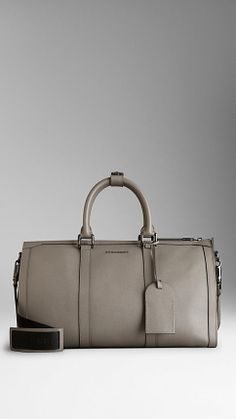 Mittelgroße Reisetasche aus London-Leder | Burberry