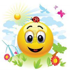 Smiley in a Clean Environment Smiley Emoticon, Emoticon Faces, Good Morning Happy Friday, Happy Today, Foto Blog, Happy Hippie, Smile Face, Brighten Your Day, Funny Faces
