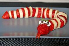 Erdbeer-Bananen-Schlange, ein gutes Rezept aus der Kategorie Frucht. Bewertungen: 29. Durchschnitt: Ø 4,6.
