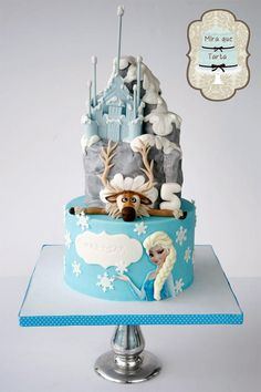 Frozen Party Cake Ideas Inspirations Cake
