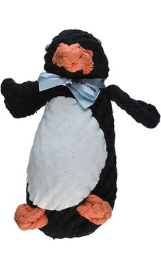 Jax and Bones Good Karma Holiday Rope Dog Toy, 9-Inch, Pepper The Penguin Best Price