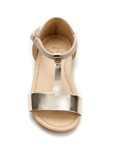 mirrored t-bar sandal - Shoes - Baby girl (3-36 months) - Kids - ZARA United States