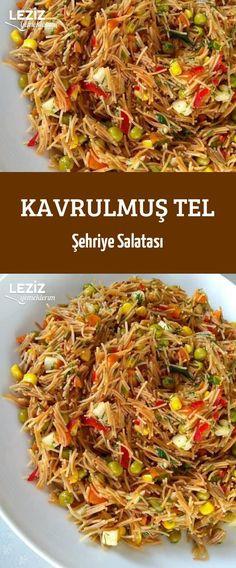 Kavrulmuş Tel Şehriye Salatası
