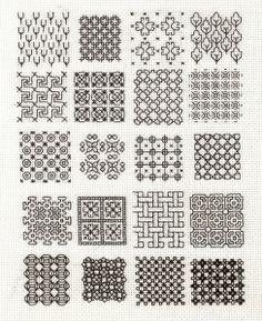 Motifs carrés